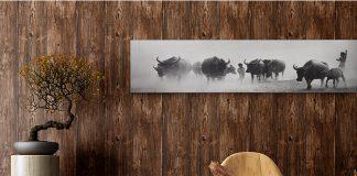 Giấy-dán-tường-giả-gỗ-3D103-màu nâu