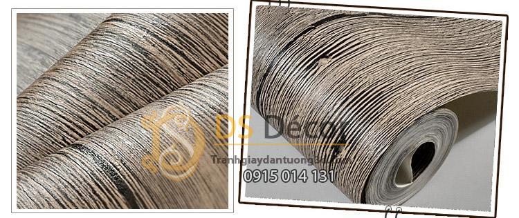 Bề mặt Giấy-dán-tường-giả-vân-gỗ xám cổ-3d087