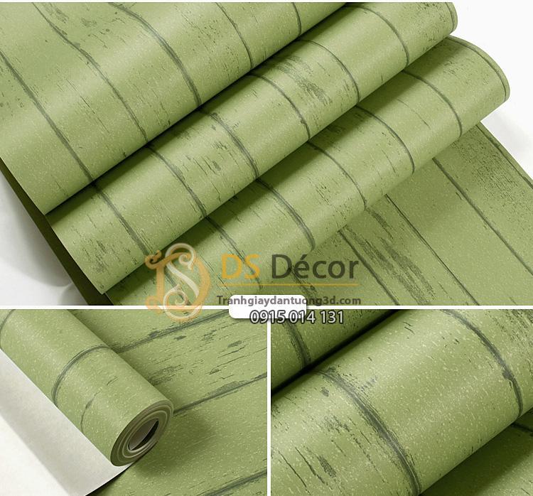 Giay-dan-tuong-gia-go-mau-xanh-luc-3D181-trang-tri-shop-quan-ao-01